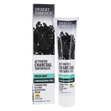 Activated Charcoal-Fresh Mint Toothpaste