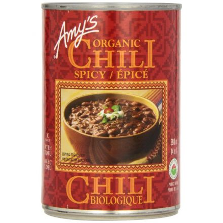 Organic Canned Spicy Chili