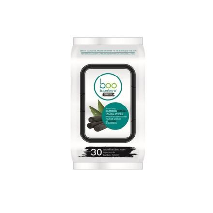 Bamboo Charcoal Cleansing Face Wipes