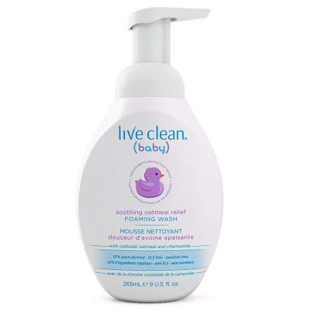 Sooth Oat Tearless Baby Wash