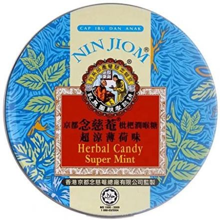 Herbal Candy Tin - Supermint