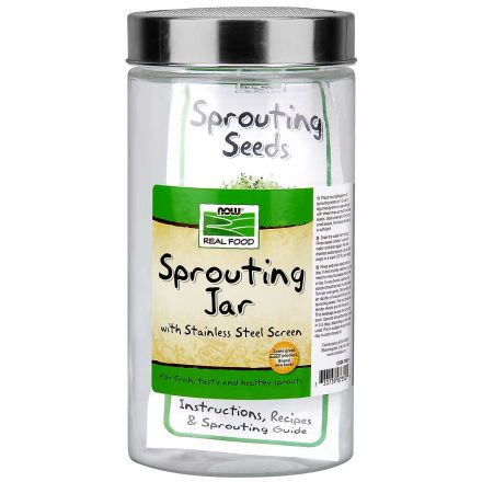 Glass Sprouting Jar